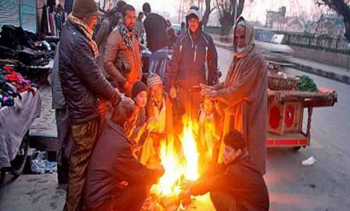 cold conditions ease in plains hills continue to shiver