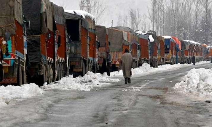 jammu srinagar highway shut for fifth consecutive day