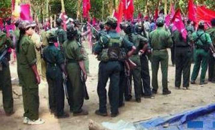 maoist carrying rs.100 000 reward nabbed