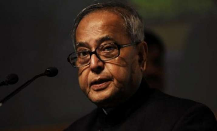 govt alone cannot make india clean says pranab mukherjee