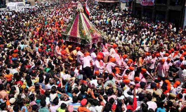 20 000 security personnel to guard 138th rath yatra of lord