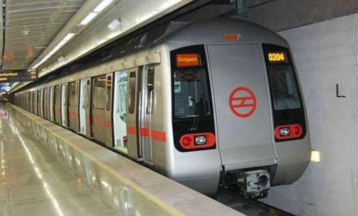 delhi gurgaon metro service begins