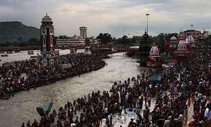 ardhkumbh mela begins in haridwar