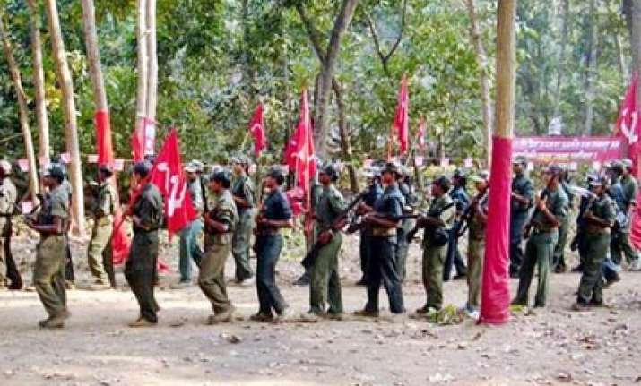 tension in maoist ranks over police tip offs strategy