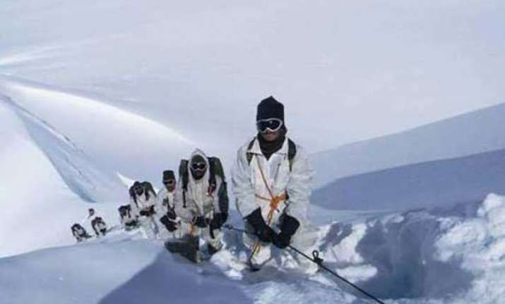 siachen soldier chose conflict areas over peace posting