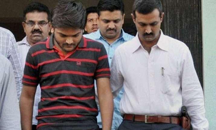 gujarat second sedition case against hardik patel two aides