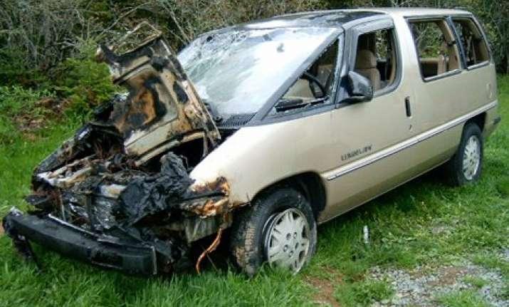 seven injured in jammu school van accident