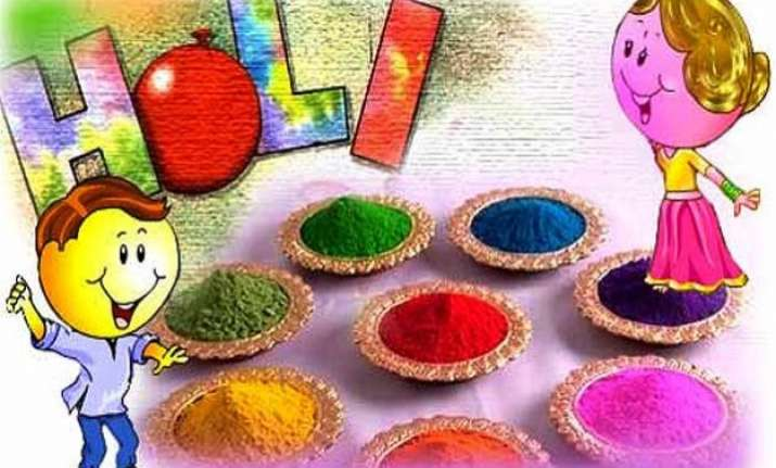 holi 2015 jaipur delhi mathura vrindavan... which color do