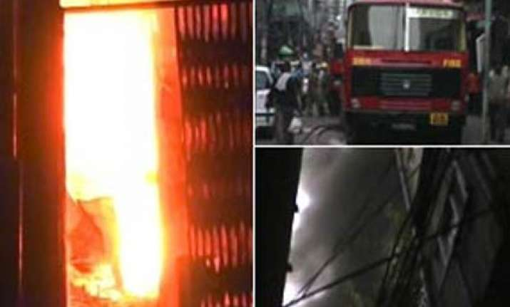 blazing inferno in delhi s chawri bazaar