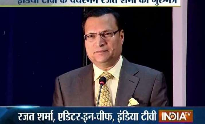 dream big and never be afraid of challenges rajat sharma