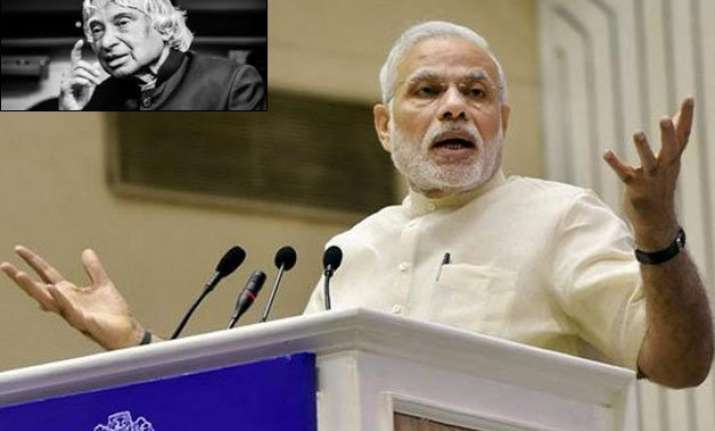 pm to attend kalam s birth anniversary celebrations