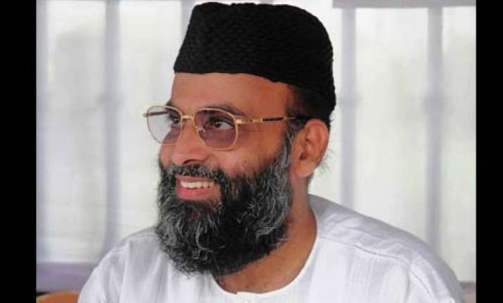 madani behind bangalore stadium blast says karnataka home