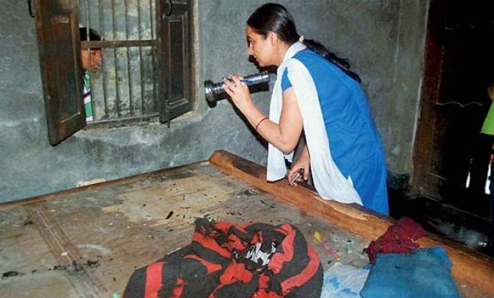 faridabad dalit kids killings fire started in room not