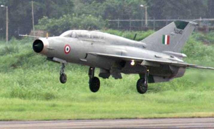 iaf aircraft crashes in budgam
