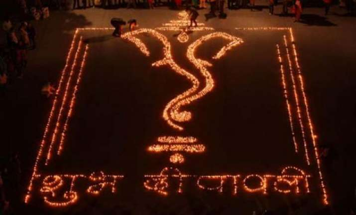 india celebrates diwali today