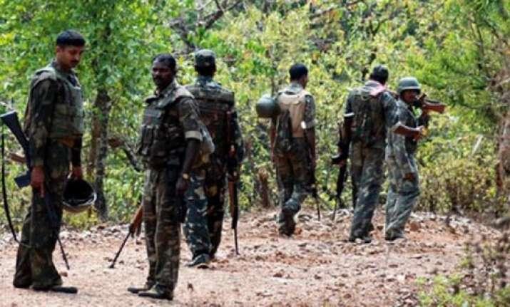 eight wanted naxals surrender in chhattisgarh