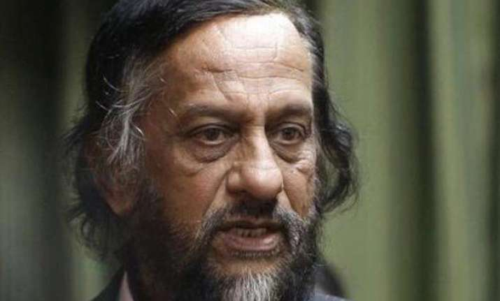 r k pachauri goes on leave as teri chancellor