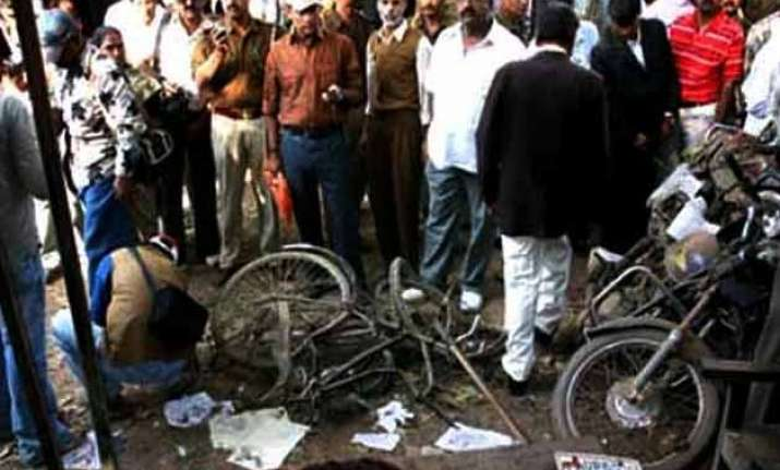 two killed over dozen injured in bihar court blast