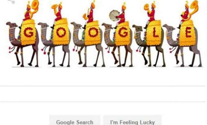 google doodle celebrates republic day