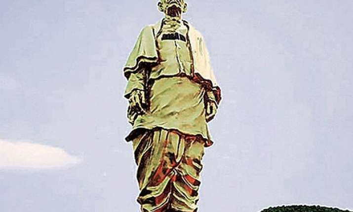 statue of unity to have china connection