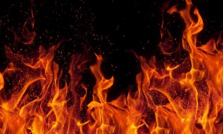drunk man sets pregnant wife on fire in odisha held