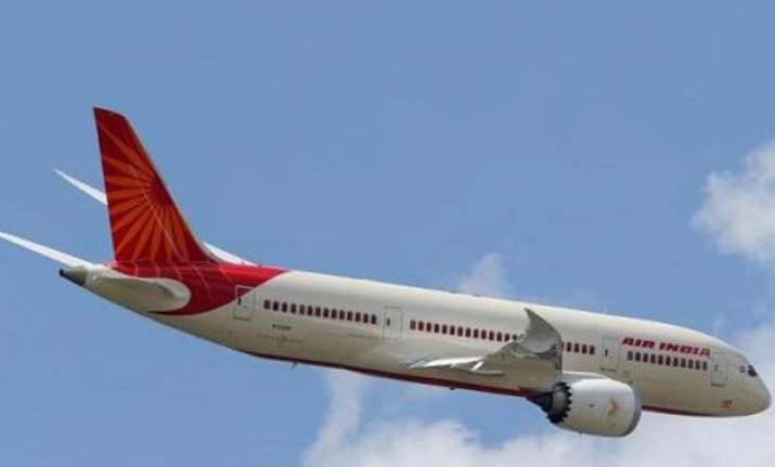 air india plane suffers tyre burst while landing