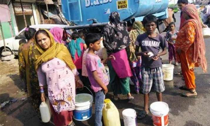 32 of delhi still doesn t have piped water connection