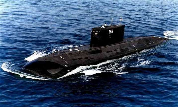 submarine ins sindhughosh collides with a fishing vessel