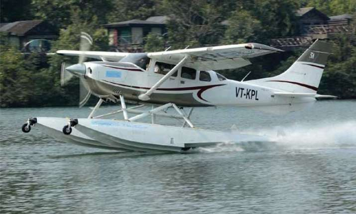 seaplane service from juhu to girgaon may flag off next