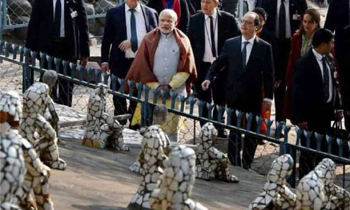 rock garden creator s son asked to leave before pm s arrival