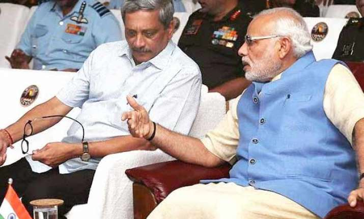is letter threatening modi parrikar being probed goa police