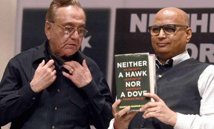 despite shiv sena threat kasuri s book launched in mumbai