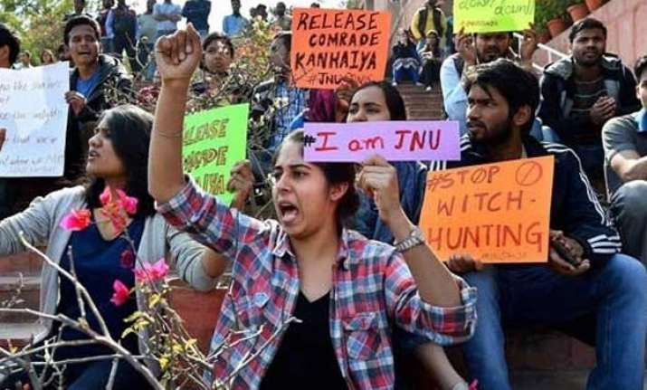 students refuse to appear before jnu panel teachers demand