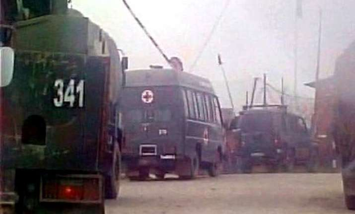 jammu and kashmir six militants involved in attack on army