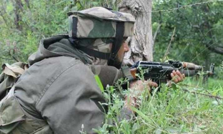 4 jawans 1 militant killed in encounters in kashmir