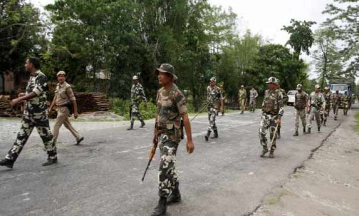 curfew in four assam police stations