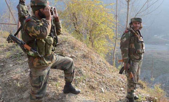 explosion inside army training camp in kashmir 14 injured