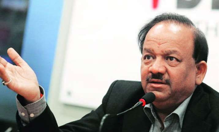 harsh vardhan offers to help pakistan fight polio