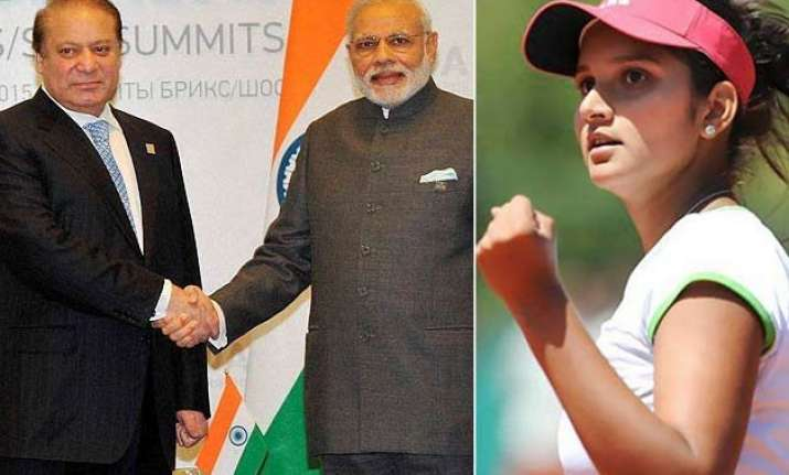 pm modi meets sharif sania mirza enters wimbledon final top