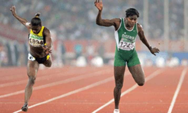 nigeria s 100m winner flunks dope test b sample test today
