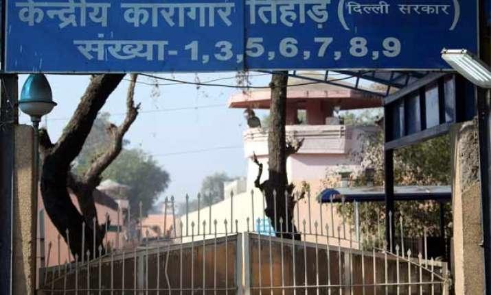 tihar superintendent suspended in jailbreak case