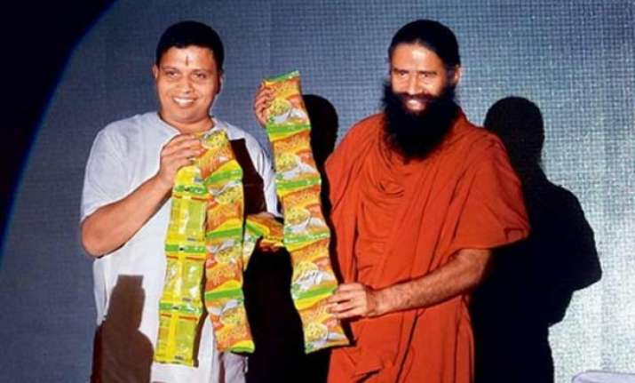 patanjali s noodles will soon oust maggi as top brand ramdev