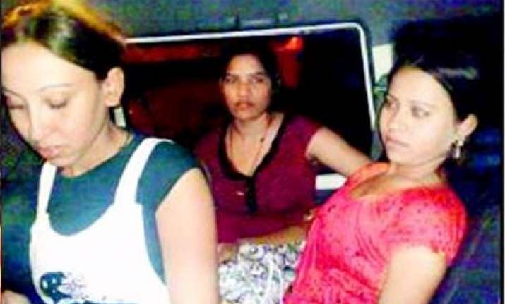 three bargirls caught flying on stolen credit card later
