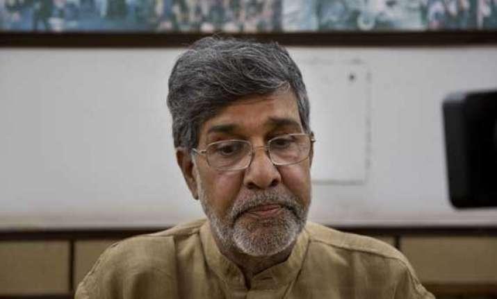 president congratulates kailash satyarthi lauds civil