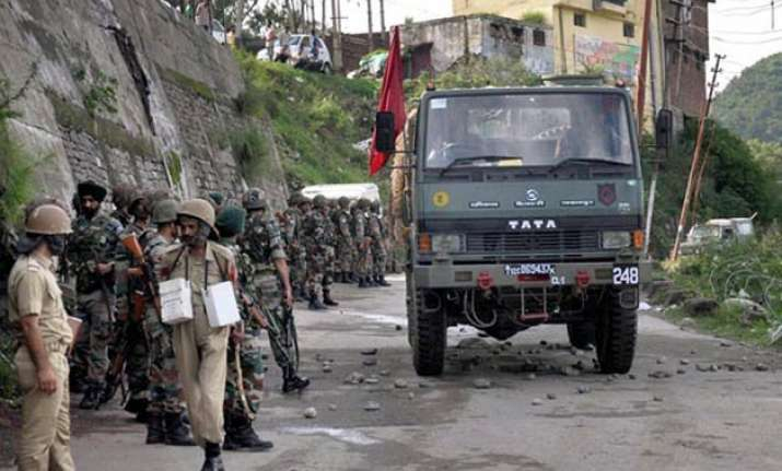 army flag march in rajouri after tension escalates over