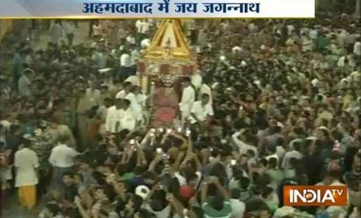 ahmedabad celebrates 138th rath yatra of lord jagannath eid