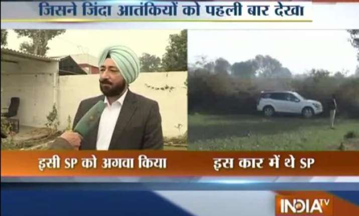 pathankot attack sp tells india tv how terrorists abducted