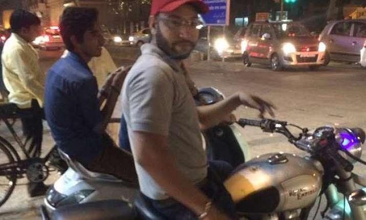 delhi biker booked for sexual harassment arrested
