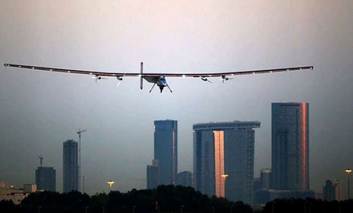 solar aircraft aimed to bring focus on renewable energy