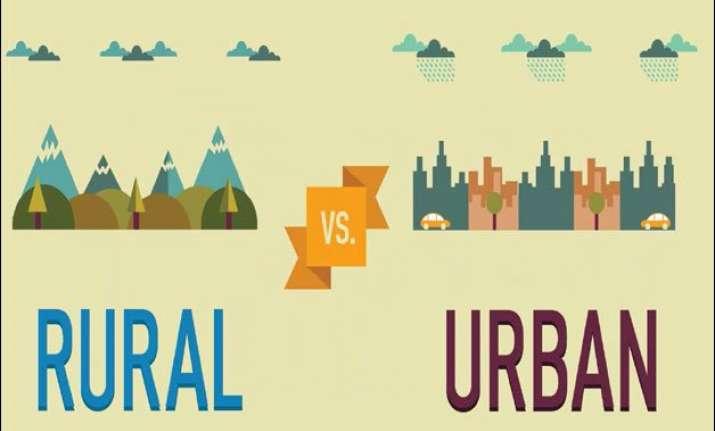rural india healthier than urban india